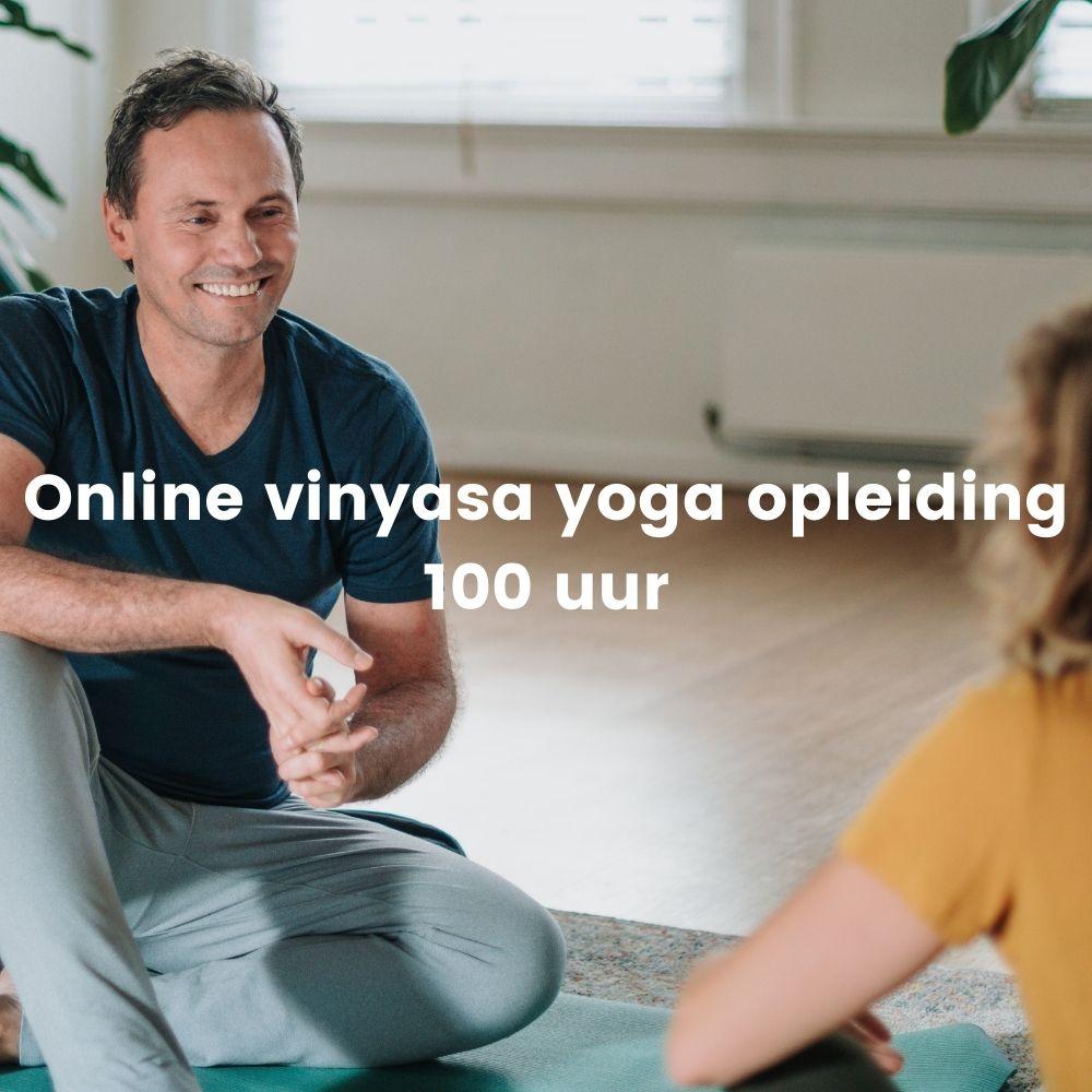 online vinyasa yoga opleiding